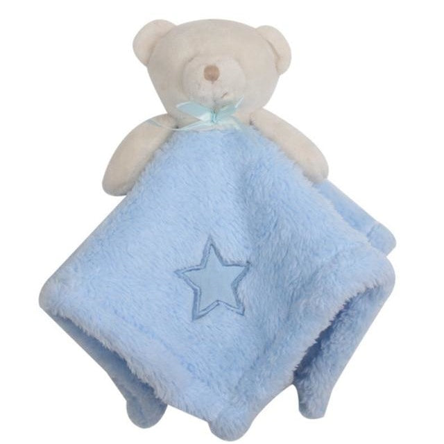 w. 1Pcs/set Cute Bear Newborn Blankie Of Baby Toys Infant Soothe Towel Newborn Baby Gift To Soothe Towel Educational Plush Toys - 1