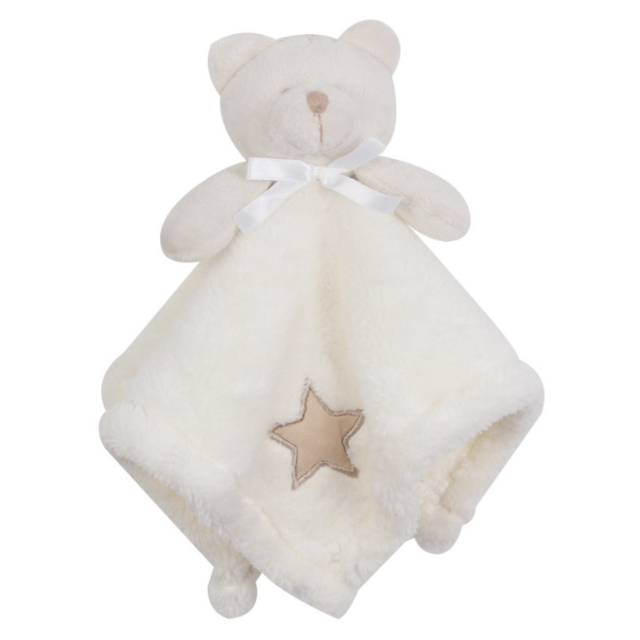 w. 1Pcs/set Cute Bear Newborn Blankie Of Baby Toys Infant Soothe Towel Newborn Baby Gift To Soothe Towel Educational Plush Toys - 3