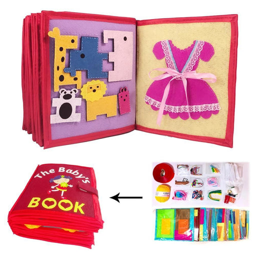 w. 3D Manual Intelligence Cloth Book