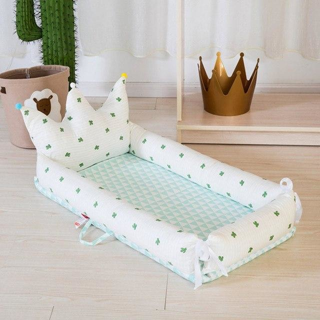 w. ALWAYSME 90X55CM Baby Bedding Accessories Quilt & Pillow & Sheets & Bumpers Co-Sleeping Crib & Cradle Bedside Cribs Travel Beds - Cactus