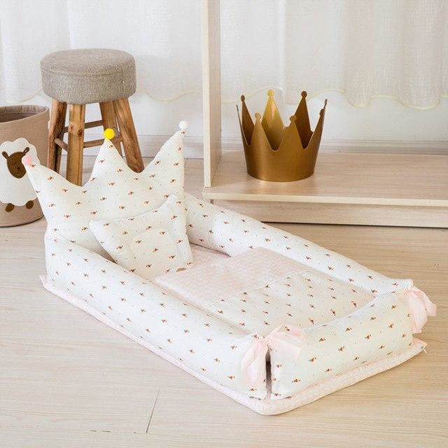 w. ALWAYSME 90X55CM Baby Bedding Accessories Quilt & Pillow & Sheets & Bumpers Co-Sleeping Crib & Cradle Bedside Cribs Travel Beds -