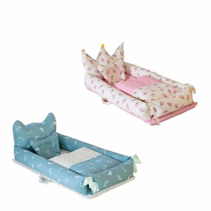 w. ALWAYSME 90X55CM Baby Bedding Accessories Quilt & Pillow & Sheets & Bumpers Co-Sleeping Crib & Cradle Bedside Cribs Travel Beds