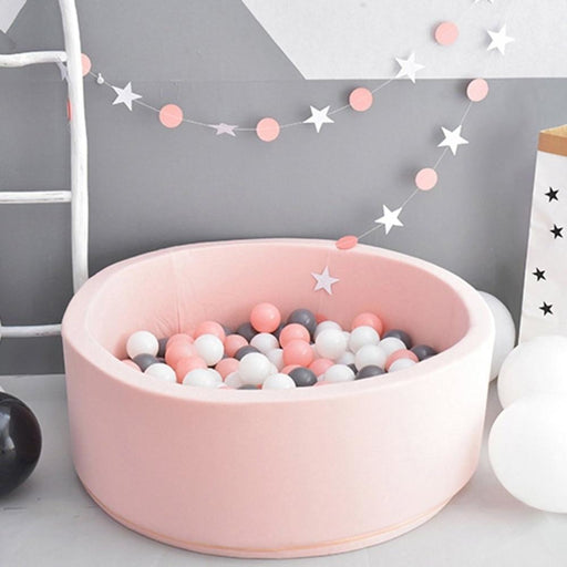 w. Baby Dry Pool Fencing Manege Tent Grey Pink Blue Round Ball Pool Pit Playpen Without Ball Game Toys For Children Birthday Gift
