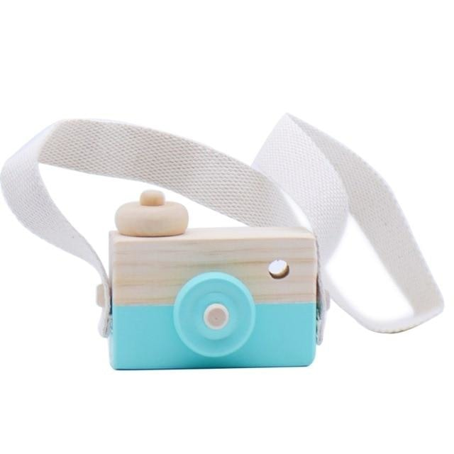 Wooden Camera Toys - Mint