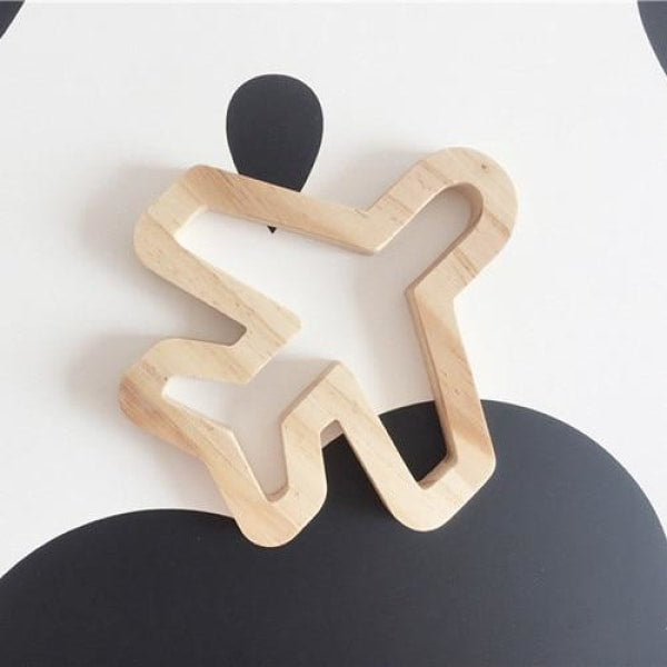 Wooden Wall Ornaments - Airplane