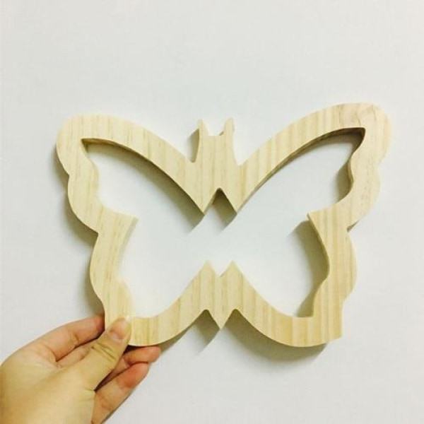 Wooden Wall Ornaments - Butterfly