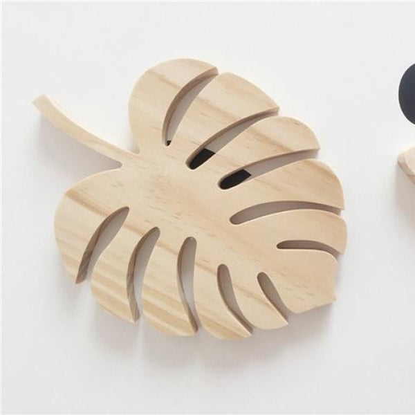 Wooden Wall Ornaments - Leaf