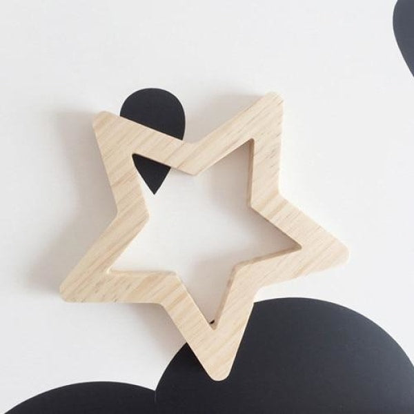 Wooden Wall Ornaments - Star