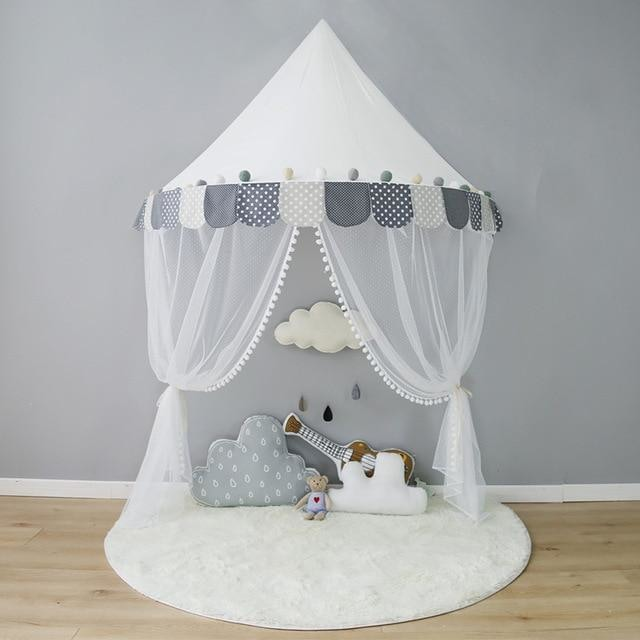 z. Children Canopy - Grey with Net