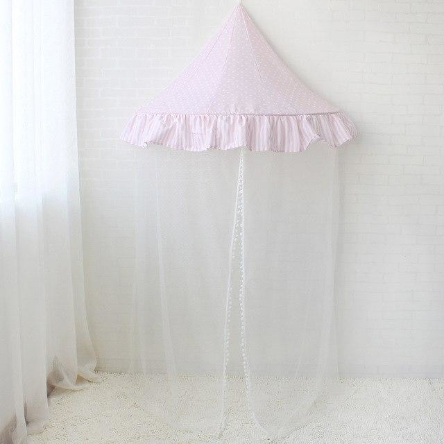 z. Children Canopy - Pink Dot with Net