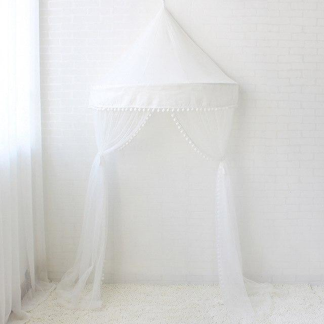 z. Children Canopy - White with Net