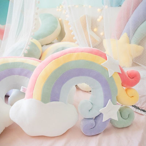 z.Mountains Stars & Rainbow Plush Pillows