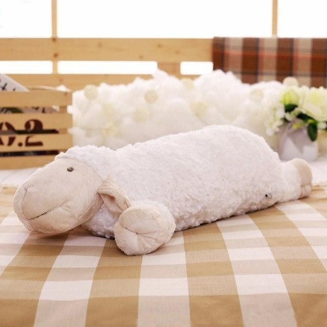 z. Plush Lamb Pillow - D