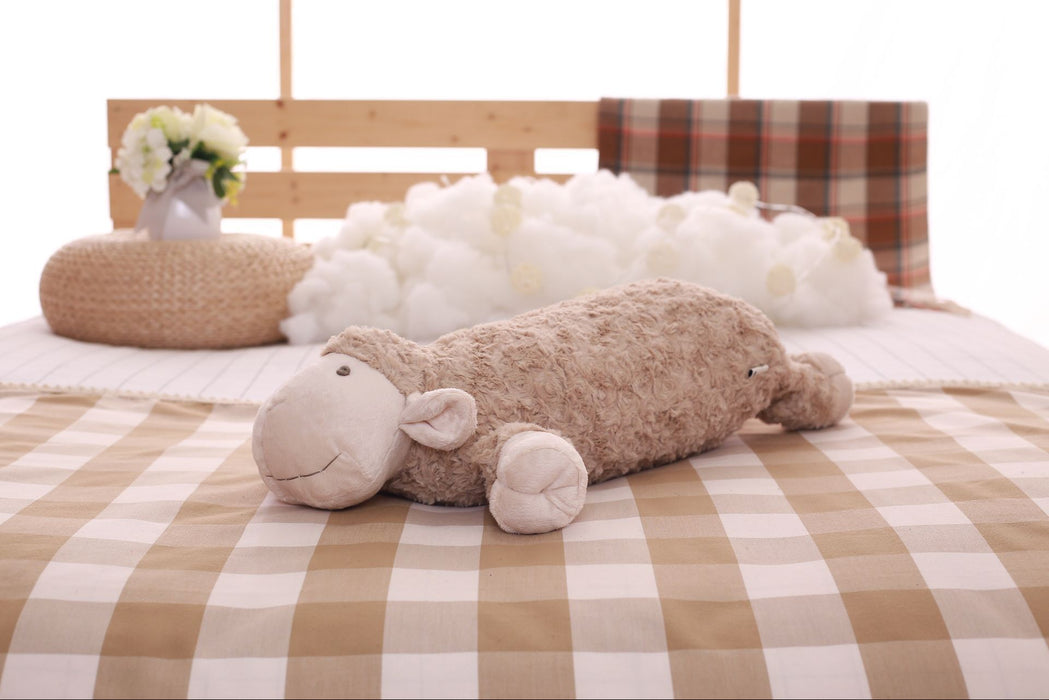 z. Plush Lamb Pillow
