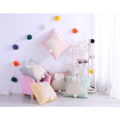 z. Rabbit Cotton Knitted Pillowcases