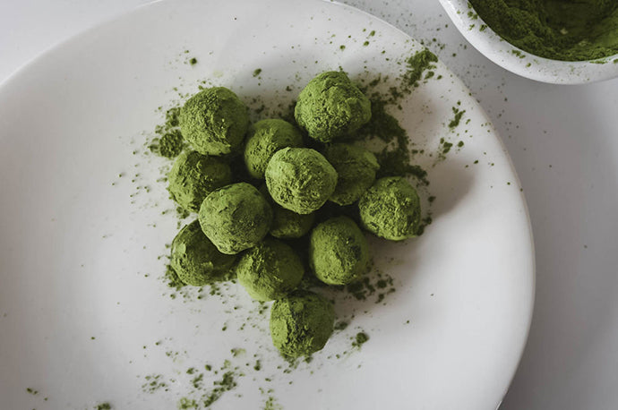 Matcha White Chocolate Truffles