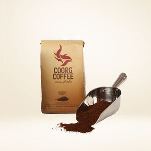 Ground coffee in medium roast, comes in 12oz pack size.