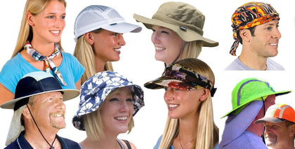 Cooling Polymer Gel Headwear Accessories