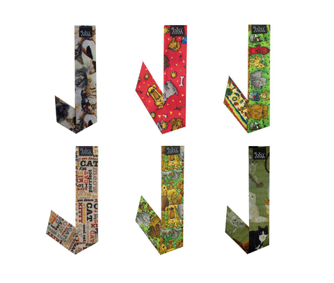 Neckbandoo Cool Tie | 6 Pc | Made in USA  | Unisex | In Pet Lovers Prints | Bandana Scarf Prints - Blubandoo