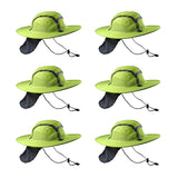Lime/Yellow Sun Safety Hatbandoo L/XL | ANSI Hi-Vis | Contains Water Activated Cooling Crystal | 6 Pc. Value Set