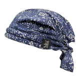Cooling Bandoorag Skull Cap | Doo Rag | Water Activated with Cooling Crystals | Hand Washable And Reusable | Unisex