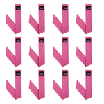 Neckbandoo Cool Tie | Unisex | Water Activated Cooling Bandana Scarf  | 12 Pc. Solid Pink Value Set