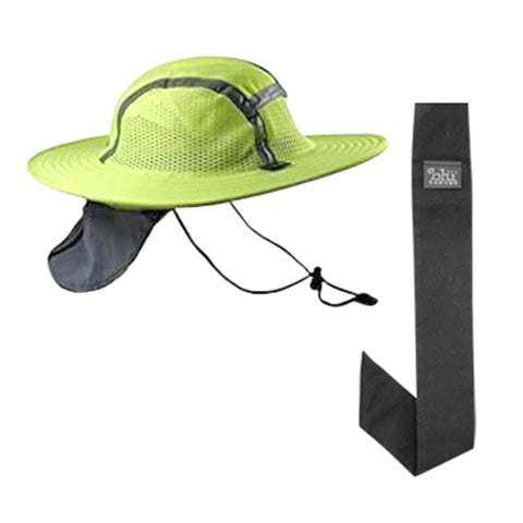 Cooling Sun Safety Hatbandoo With Black Neckbandoo | Water Activated Cooling |  2 Pc. Value Set | Unisex