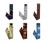 Neckbandoo Cool Tie | 6 Pc | Made In USA | Unisex | In Special Edition Prints | Scarf Prints - Blubandoo