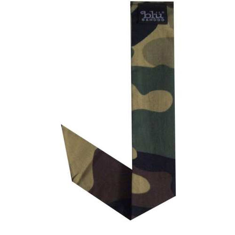 Water Activated | Neckbandoo Army Camouflage with Cooling Crystals | 6 Pc | Hand Washable And Reusable | Unisex - Blubandoo
