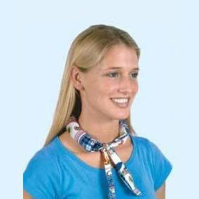 Neckbandoo Cool Tie | USA Made | Unisex | Water Activated Cooling Bandana Scarf