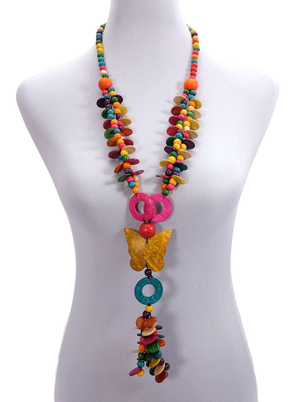 Daily/Beach Women's Clothes Chain Boho Long Necklace