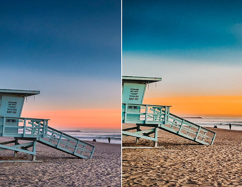 Sunset Beach Lightroom Mobile Presets