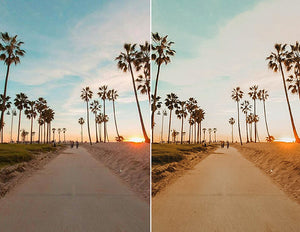 Sunset Beach Lightroom Desktop Presets