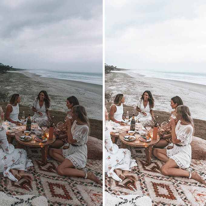 Boho Chic Lightroom Mobile Presets