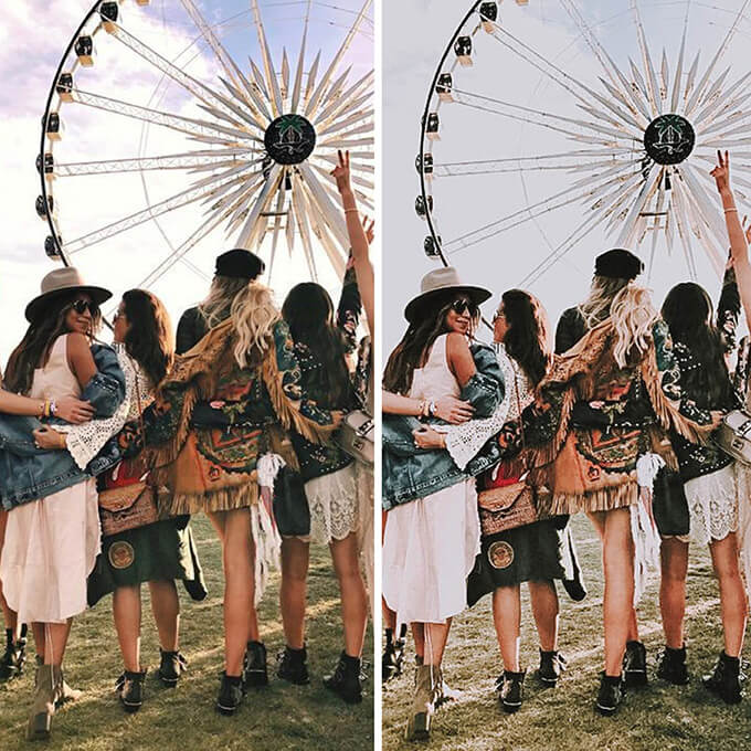 Coachella Lightroom Mobile Presets