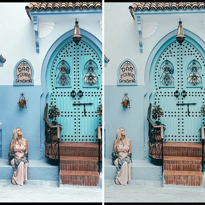 Majorelle Lightroom Preset