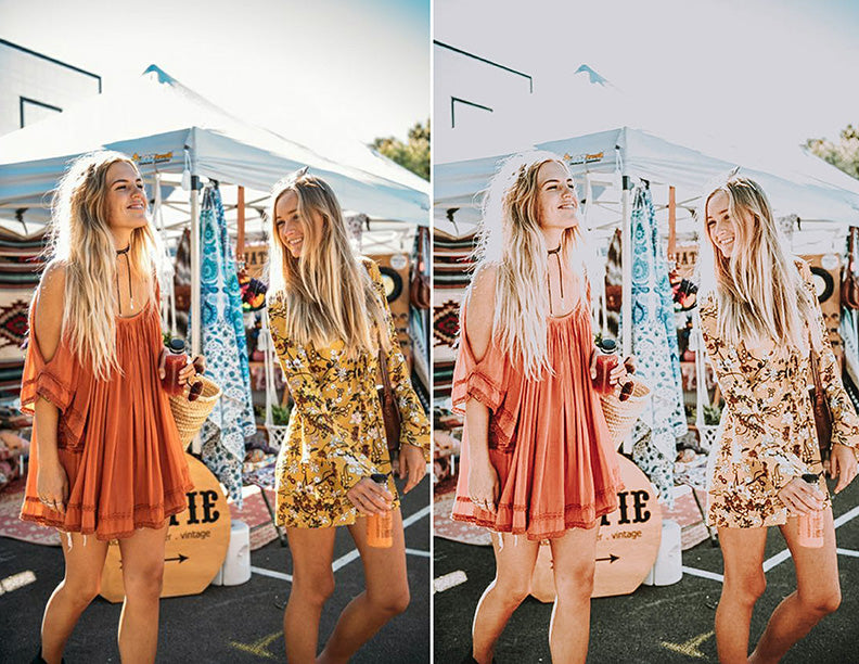 Coachella Lightroom Preset