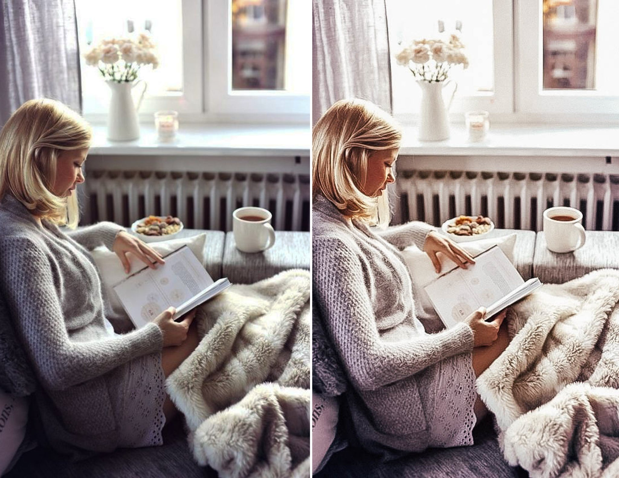 Cozy White Lightroom Preset