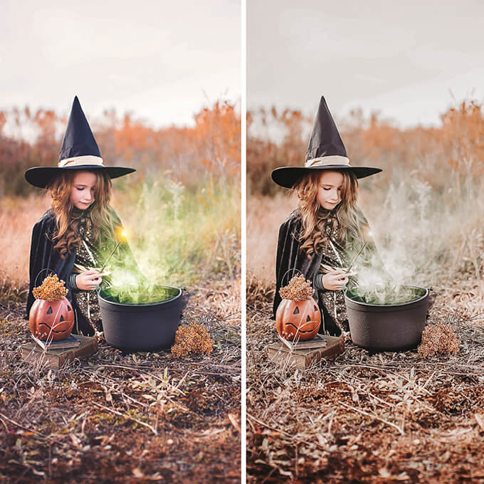 Halloween Lightroom Desktop Presets