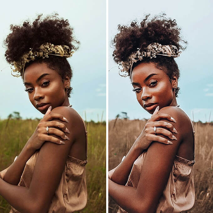Dark Skin Lightroom Desktop Presets