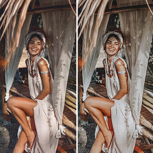 Bohemian Lightroom Mobile Presets