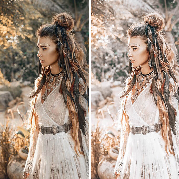 Boho Chic Lightroom Desktop Presets