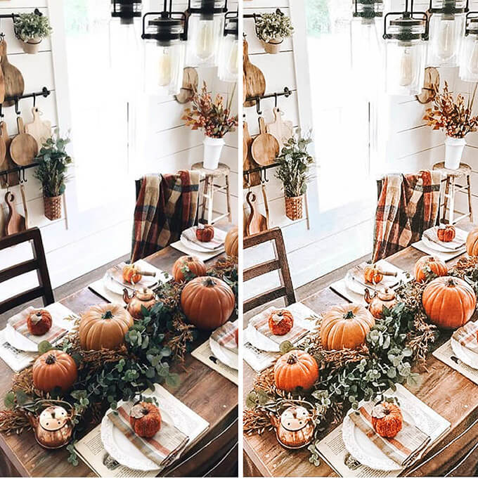 Pumpkin Lightroom Mobile Presets