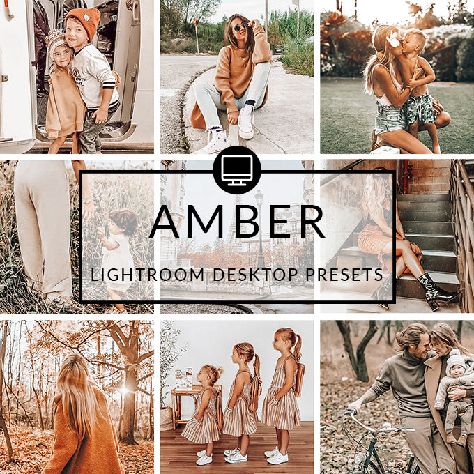 Amber Lightroom Desktop Presets