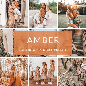 Amber Lightroom Mobile Presets