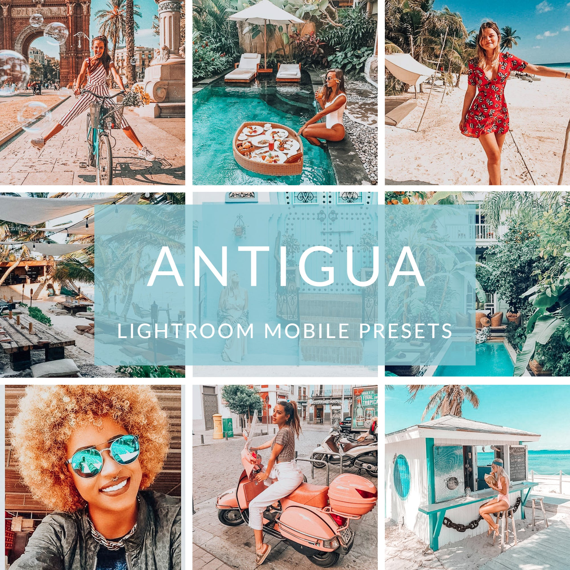 Antigua Lightroom Mobile Presets