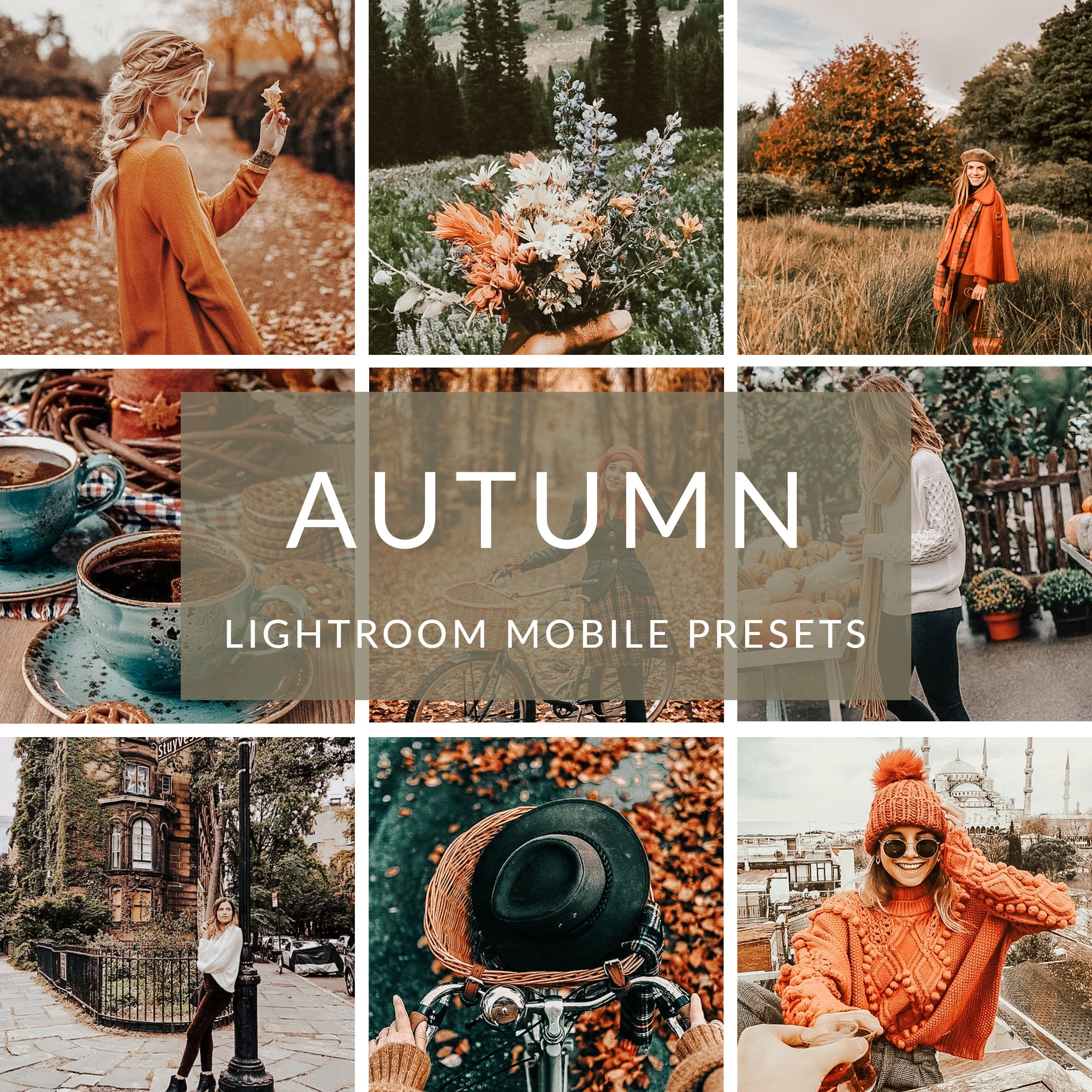Autumn Lightroom Mobile Presets