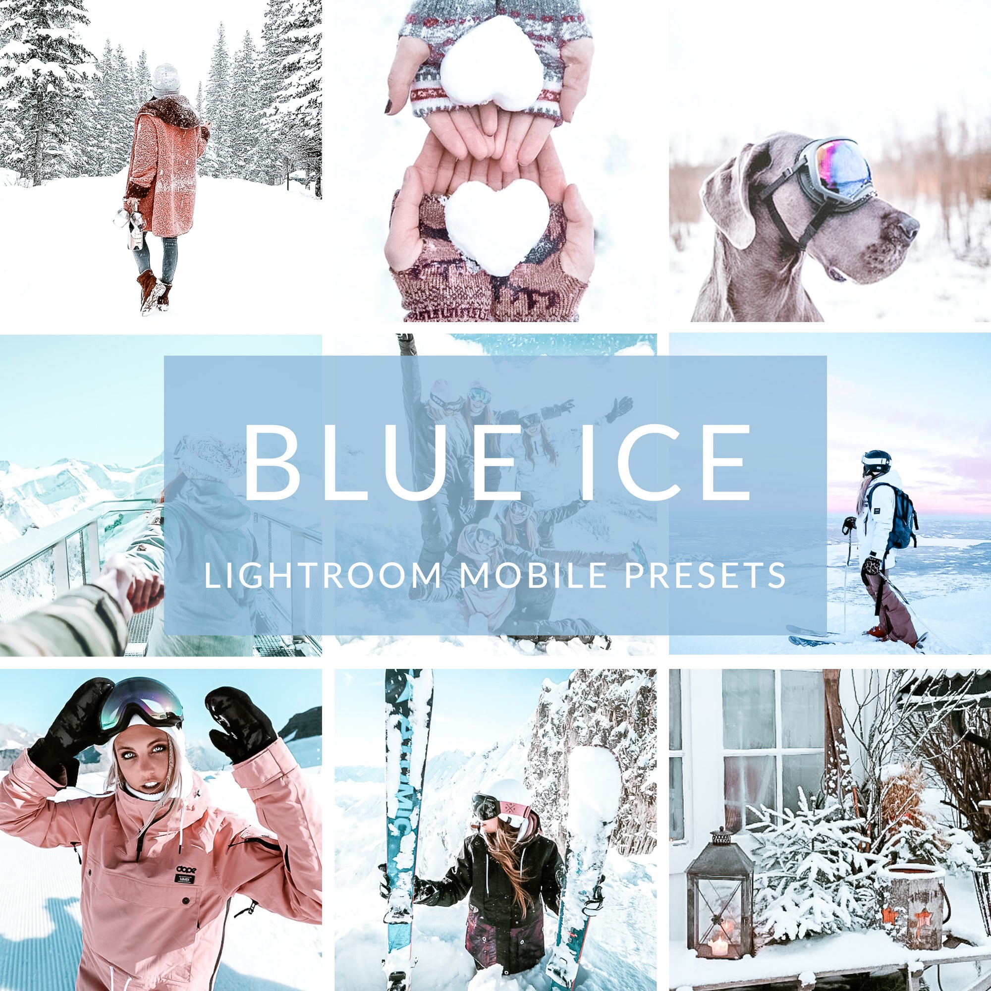 Blue Ice Lightroom Mobile Presets