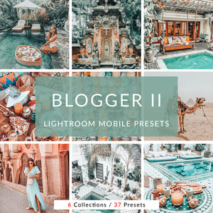 Blogger II Lightroom Mobile Presets