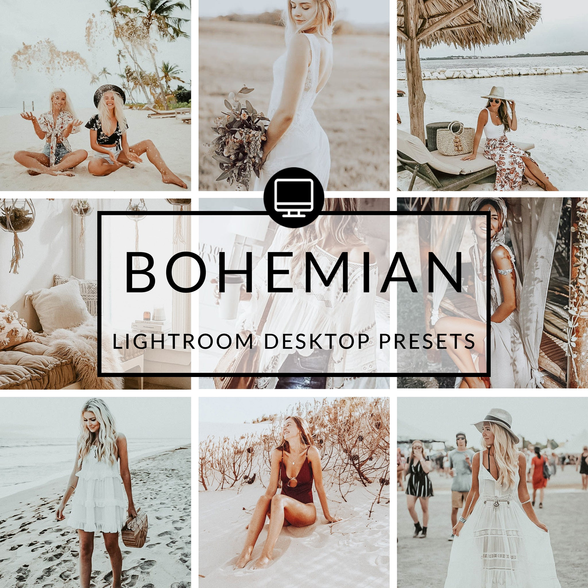 Bohemian Lightroom Desktop Presets